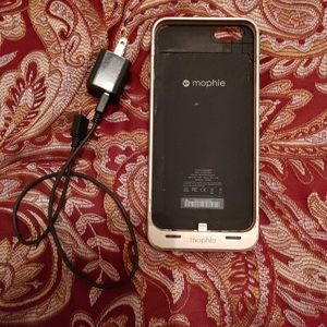 iPhone 6 plus and 6s plus Mophie battery pack case